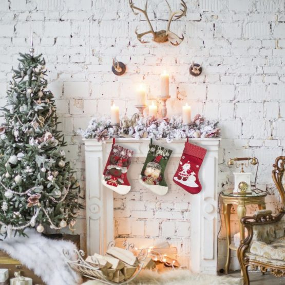 hNDMADE CHRISTMAS STOCKING