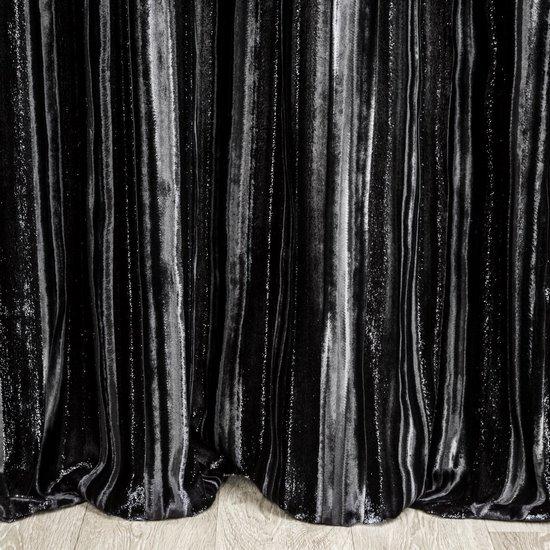 black velvet curtains