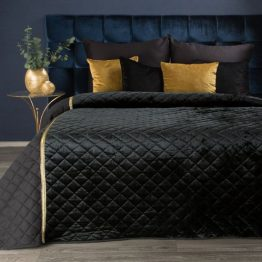 black velvet bedspread